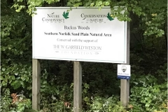Backus Woods Entrance