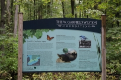 Backus Woods Interpretive Sign